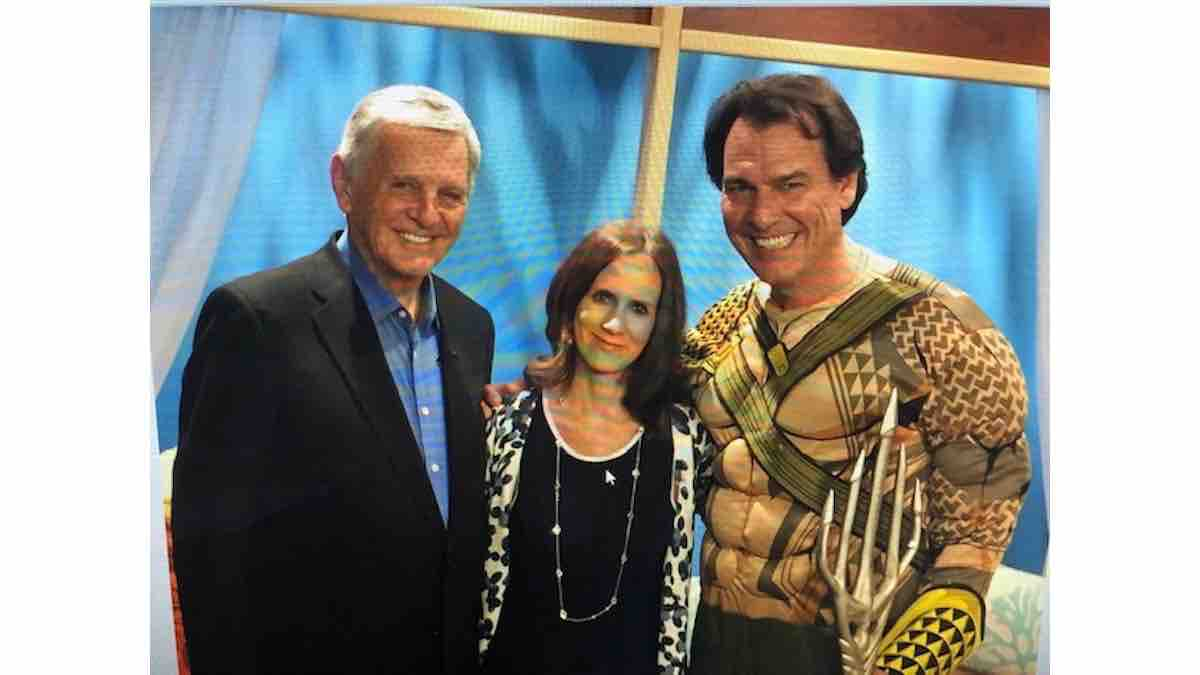 With Tampa Anchor Icon John Wilson and PR Expert, Son Paul Wilson at CBS Tampa