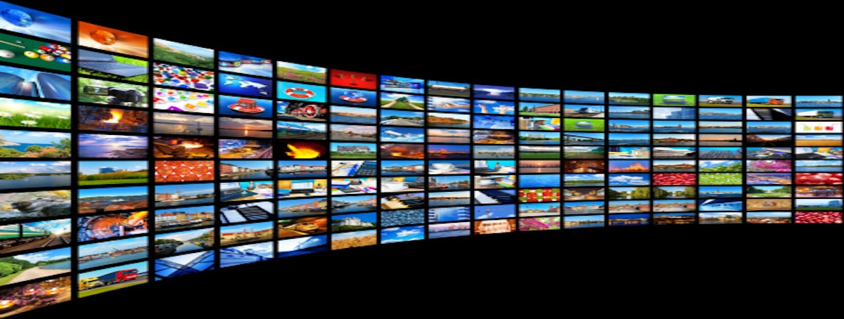 Services Section Media Wall