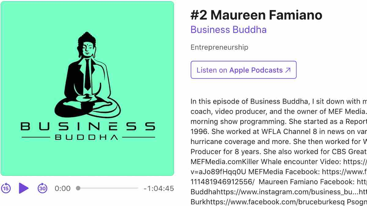 Business Buddah - Maureen Famiano