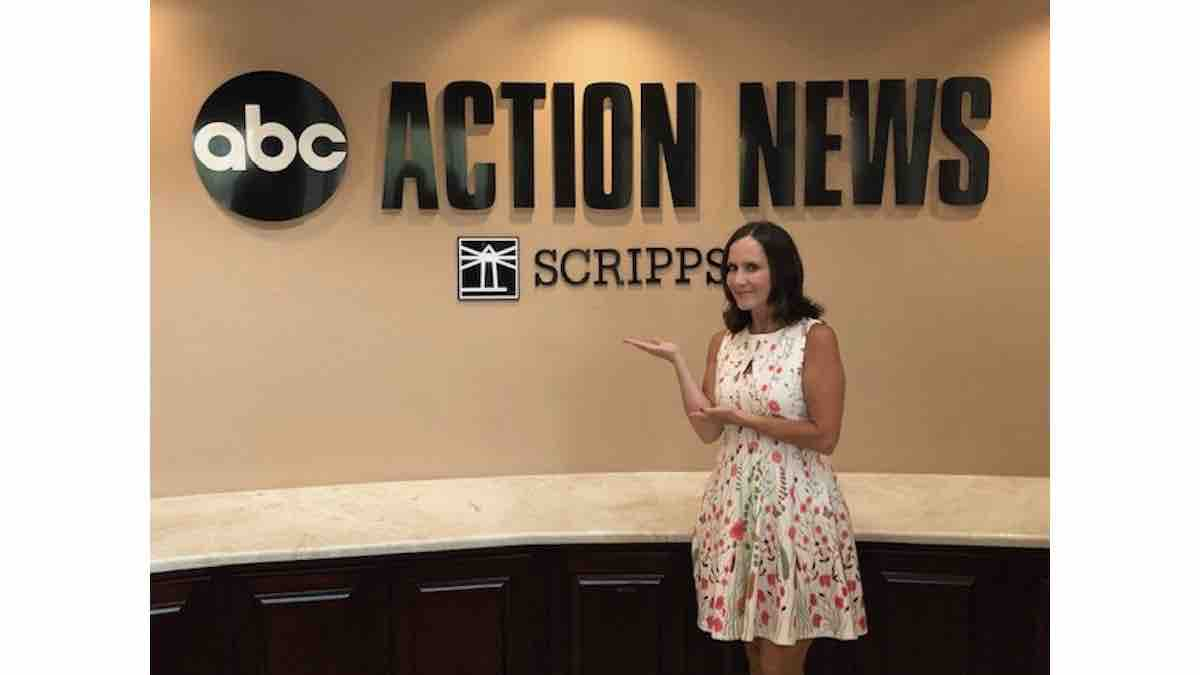 Guest TV Appearance at ABC Action news in Tampa