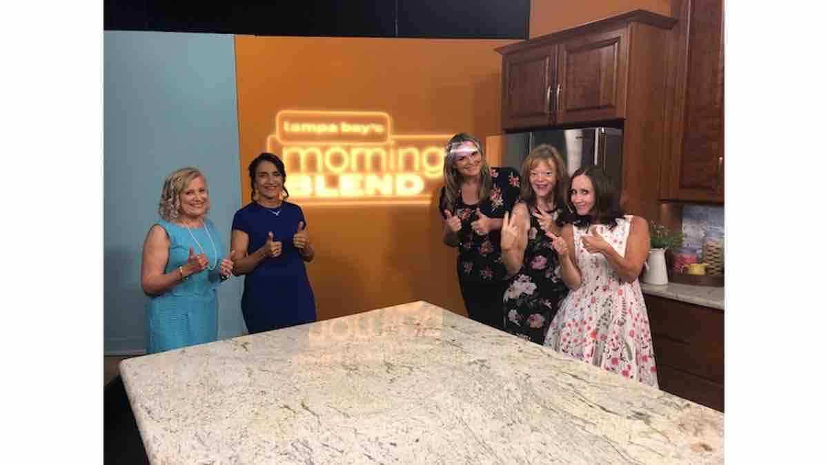 Guest TV Appearance at Morning Blend Show in Tampa